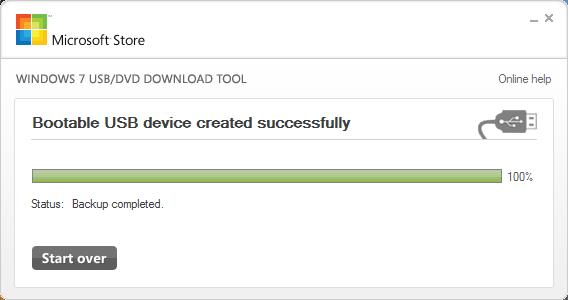 Windows 7 USB DVD Download Tool7