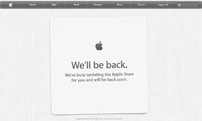 Apple Closing Online Store