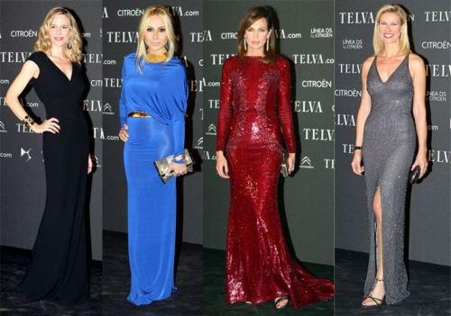 Best International Designer Dresses At Telva Fashion 2012