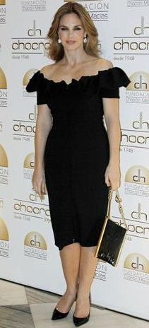 Genoveva Casanova Stuning Look with Elegant Black Dress