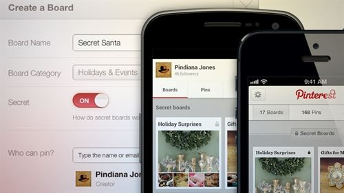 Pinterest Launch Secret Boards Info
