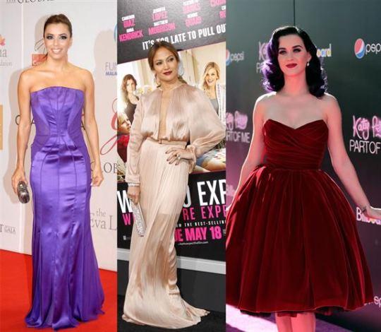Katy Perry Jennifer Lopez And Eva Longoria