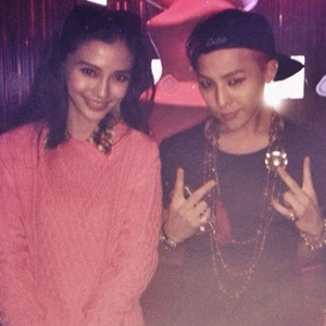 Angelababy Posed Photos with G-Dragon