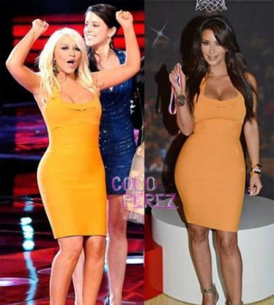 Kim Kardashian Copycat is Queen Steal Xtyle1