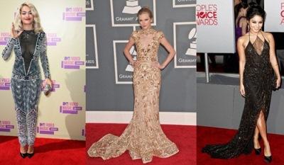 Rita Ora Taylor Swift Vannessa Hudgen