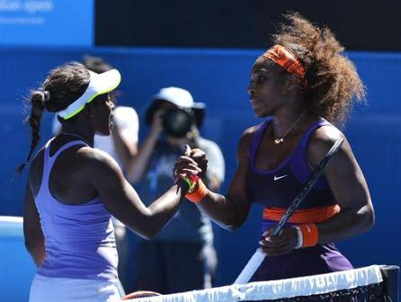 Sloane Stephens Defeated Serena Williams