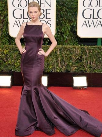 Taylor Swift at Golden Globes