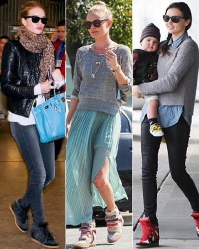 Wedge Sneakers Fashion Trends 2012