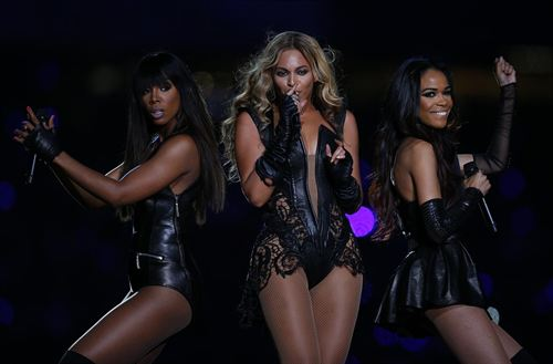 Destinys Child Re-united At Super Bowl 2013