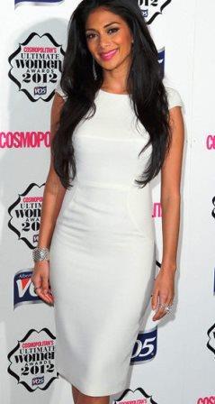 Nicole Scherzinger Sophisticated Dress Code on Grammy Night