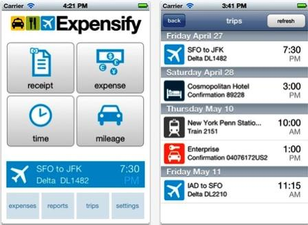 Control Your iPhone With Expensify Application