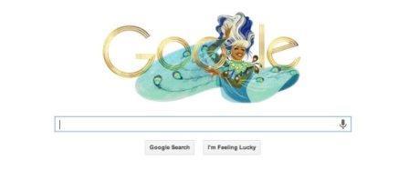 Google Doodle Celia Cruz