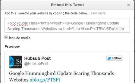 How To Embed Tweets in Blog1
