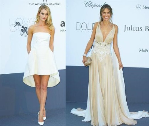 Rosie Huntington And Alessandra Ambrosio
