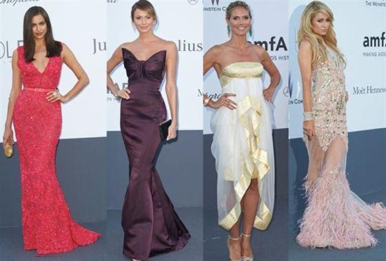 Style At AMFAR Gala