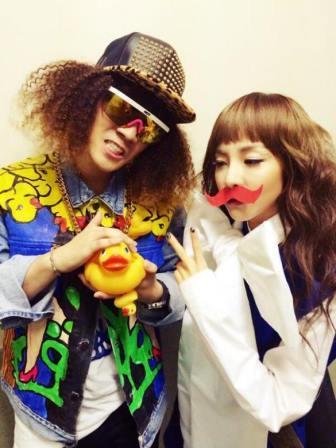 Seungri and Dara
